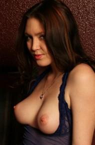 Megan Loxx Sexy Blue Lingerie
