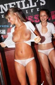 sandy secrets naked spread pussy