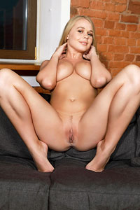 Anna S Spreads on the Couch