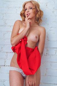 MIlana Bene in Lace Panties