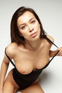 Nicolette Black Bodysuit