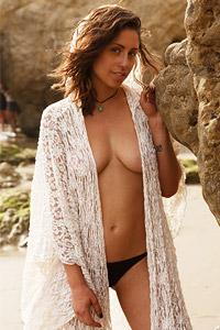Sonya Ash at the Beach