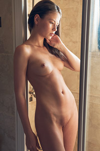 Hilary in the Shower
