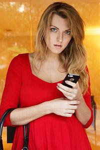 Lydia Graniva Sexy Red Dress