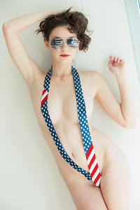 Rilee Marks 4th of July Tease