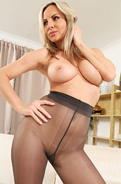 Tammy Topless in Pantyhose