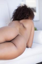 Ebony fucks hot blonde with a strap on black market - 3 part 4