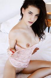 Candice Luca Rubs her Twat