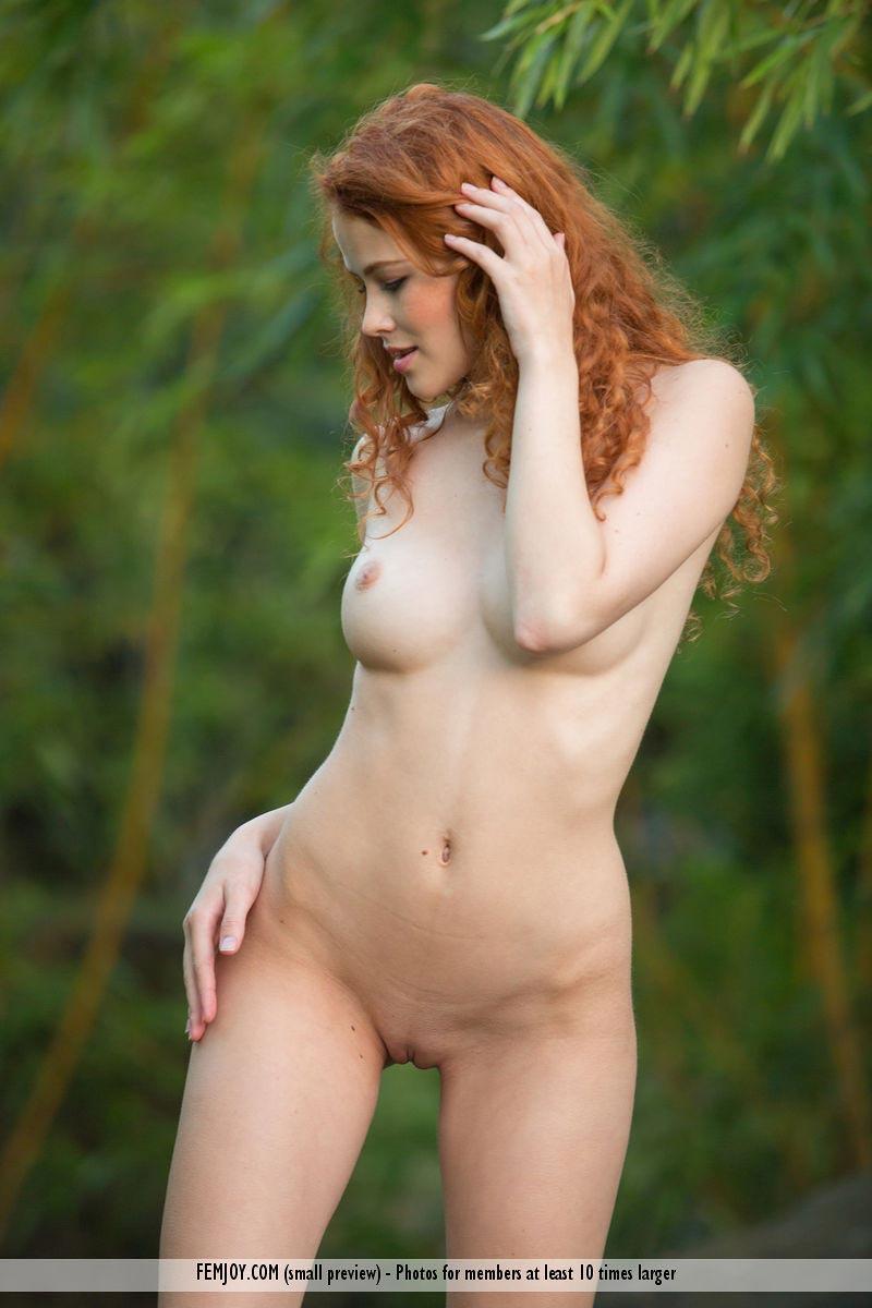 Heidi Romanova Cute Naked Redhead-8003