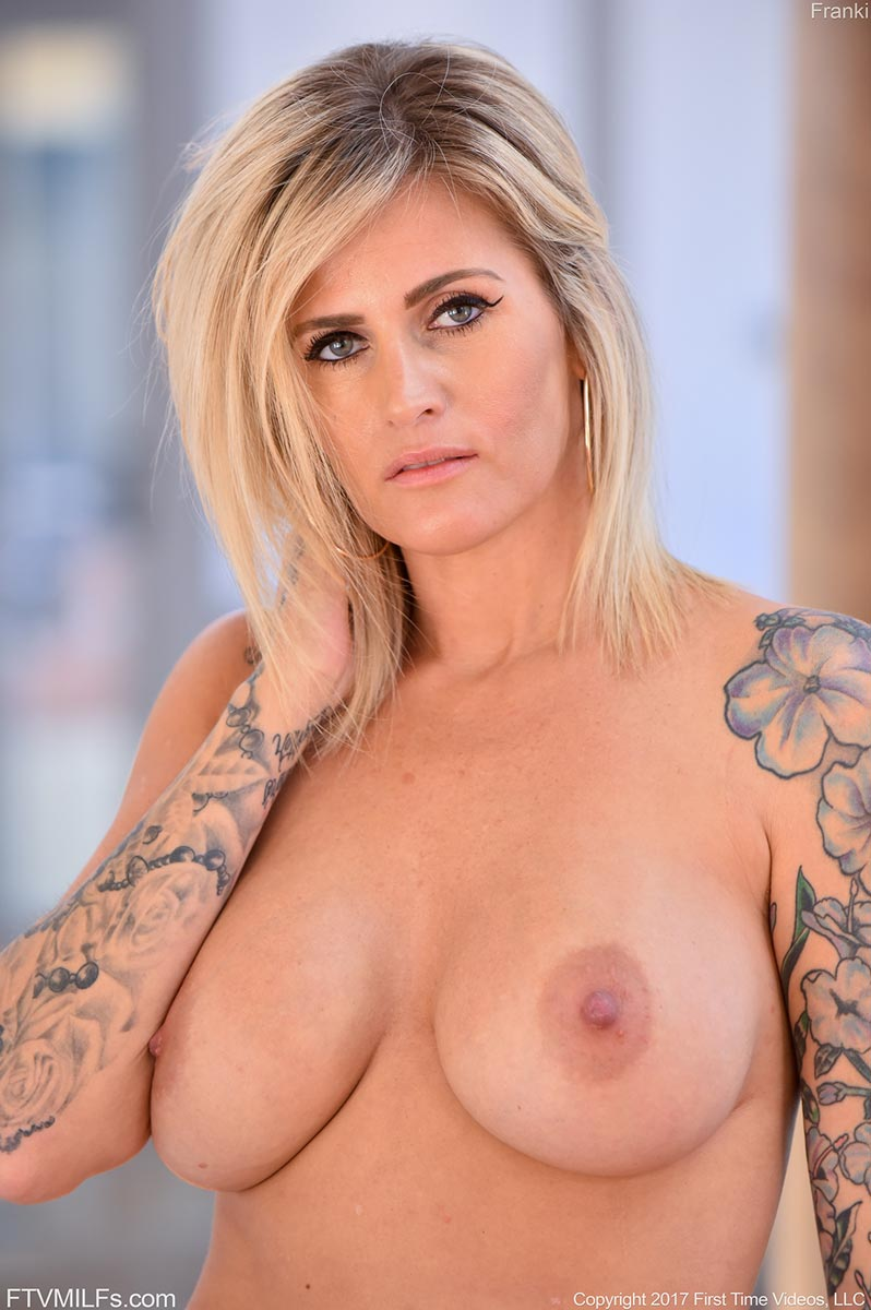 Busty cougar milf rides hard younger cock and tastes cum