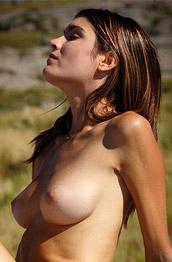 Consuelo Leggy Outdoor Brunette