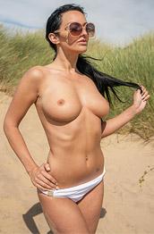 Cher P Takes off her Bikini Top