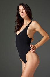 Gia Takes off her Bodysuit