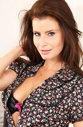 Kamila A Topless Secretary in Pantyhose