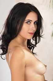Mona Dark Brunette with Cute Titties