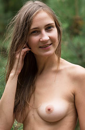 Lenta Nude in the Outdoors
