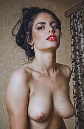 Bella Alexon in Fishnet Pantyhose