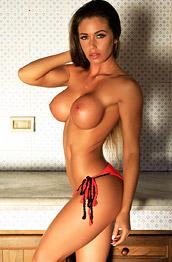 Busty Isabelle Strips off her Bikini