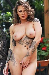 Mica Martinez Nude Inked Glam Babe