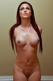 Sarah B Red Lingerie