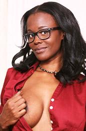 Brooke Carter Busty Ebony Secretary Strips