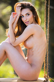 Cara Mell A Swing in the Woods