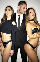 Eva Lovia Wild Threesome