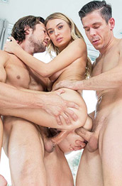 Natalia Starr Hard Double Penetration