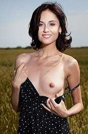 Sabrina G Naked in the Big Outdoors