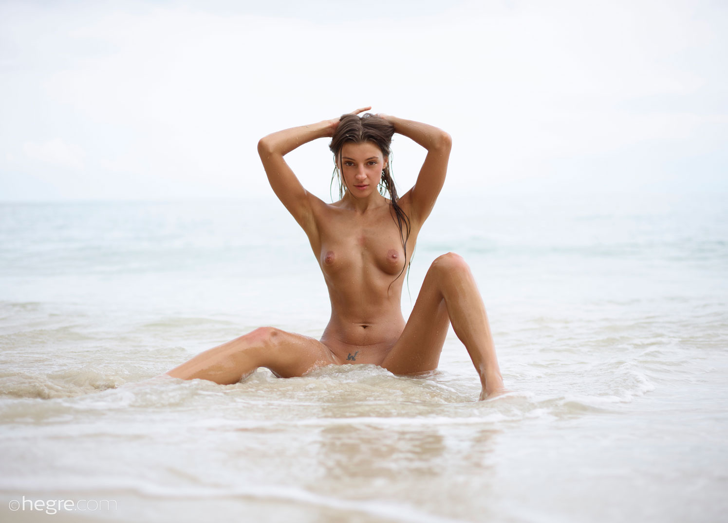 Melena Maria Wet Beach Brunette