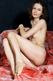 Nika D Skinny Brunette with a Firm Tushy