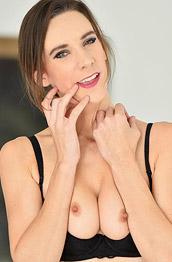 Alora Jaymes Strips off her Lingerie