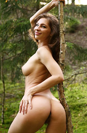 Galina A Naked Nature Girl