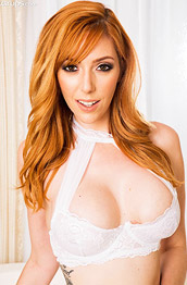Lauren Phillips Seductive Pornstar in White Lingerie
